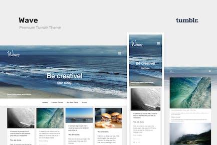 Wave   Grille, PorRéalisations Tumblr Thème