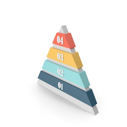 Pyramid Info-graphic