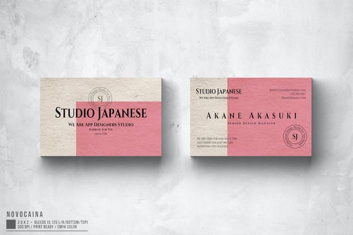 Thumbnail for Akane Akasuki Studio Business Card