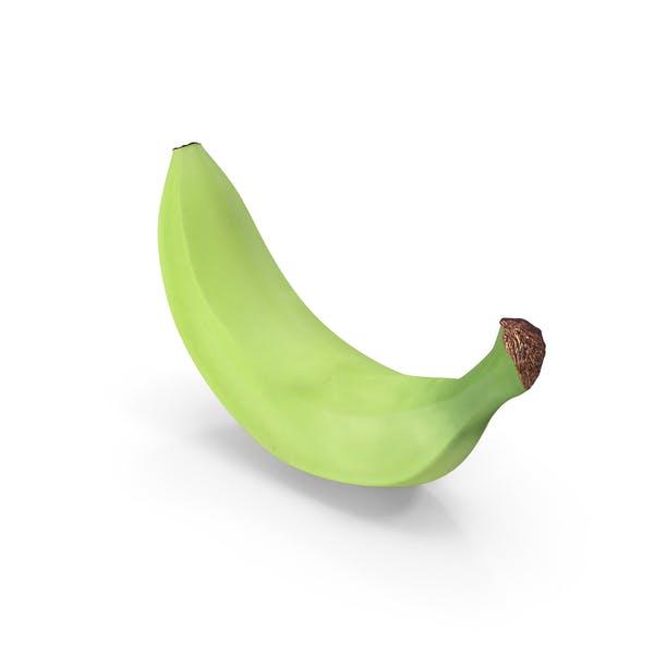 Unreife Banane