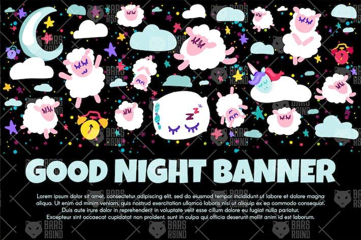 Thumbnail for Good Night Banner