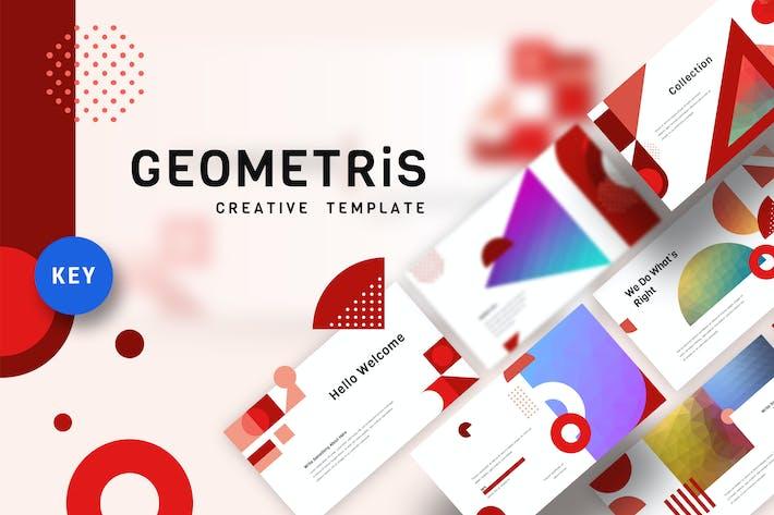 Geometris - Creative Keynote Template
