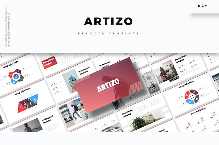 Cover Image For Artizo - Keynote Template