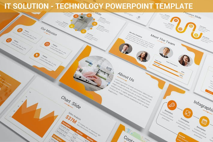 Thumbnail for IT Solution - Technology Powerpoint Template