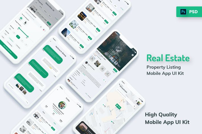 Thumbnail for Real Estate & Property Mobile App Light Version
