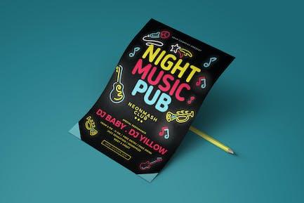 Music Pub Flyer