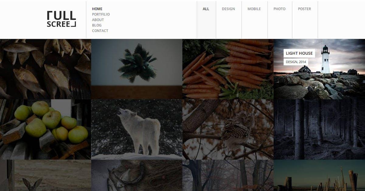 Download Fullscreen - Photography Portfolio Drupal Theme by symphonythemes
