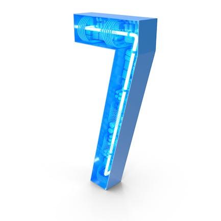 Tech - Alfabeto número 7