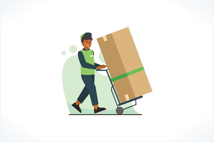 Thumbnail for Mitarbeiter für Hauszustellung