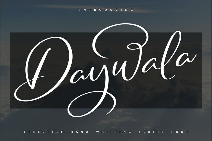 Thumbnail for Daywala | Handwritting Script Font