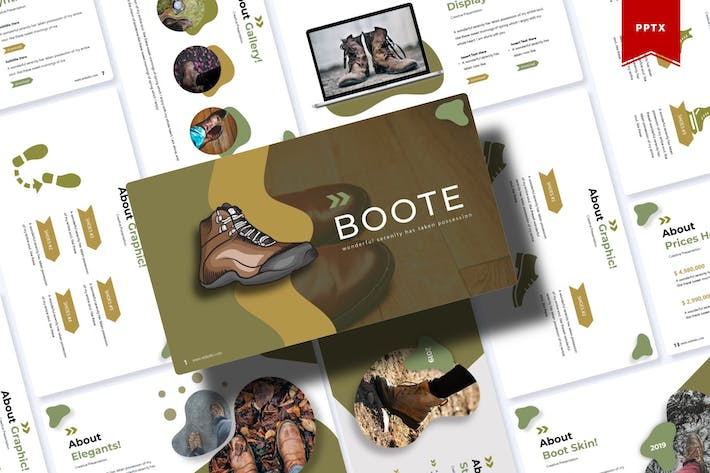 Thumbnail for Boote | Powerpoint Template