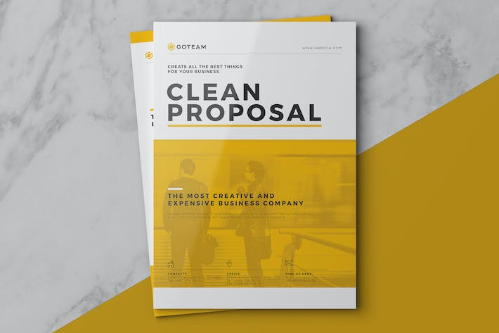 Cover Image For Clean Proposal