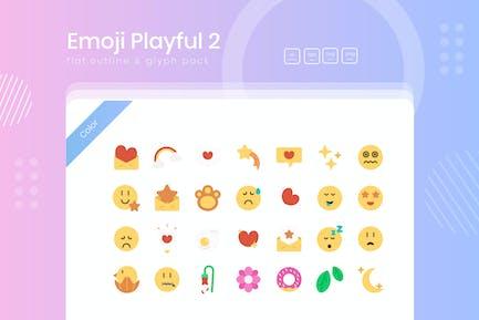 Emoji Playful Sticker 02 Icon Pack