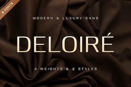 Deloire - Modern & Luxury Sans