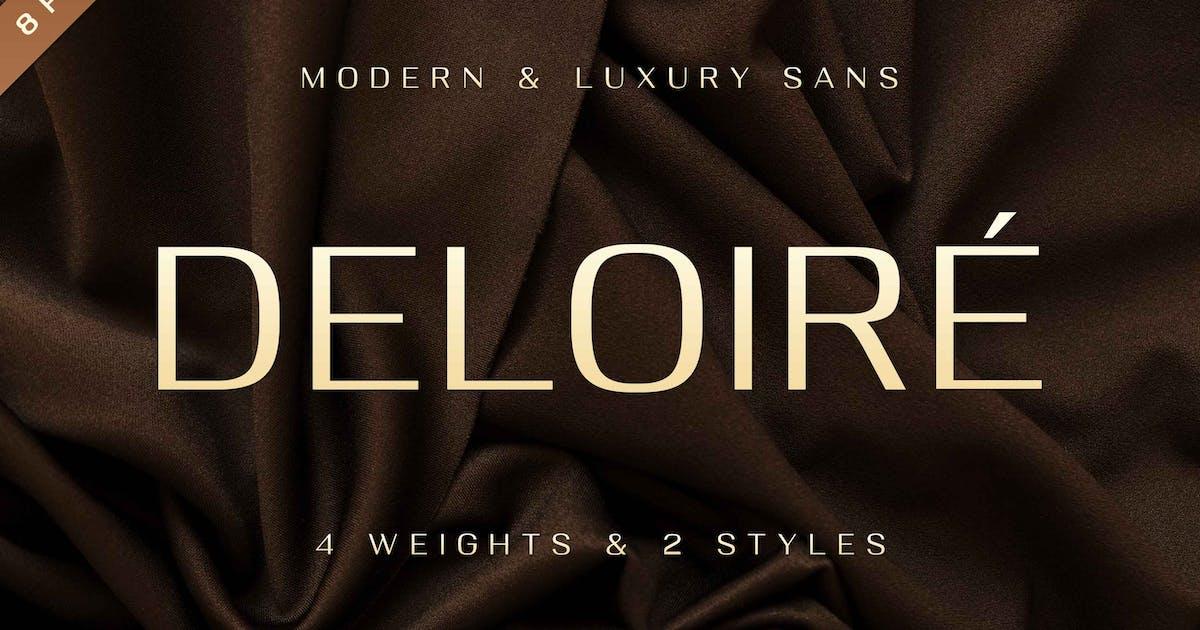 Download Deloire - Modern & Luxury Sans by Alterzone