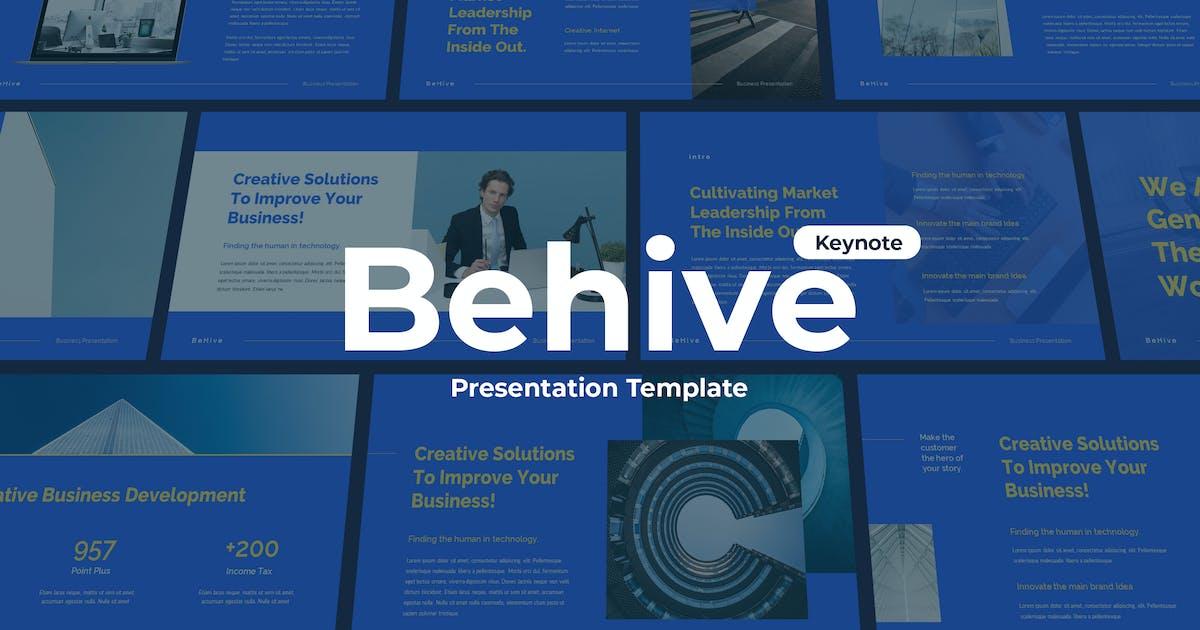 Download Behive - Keynote Template by Slidehack