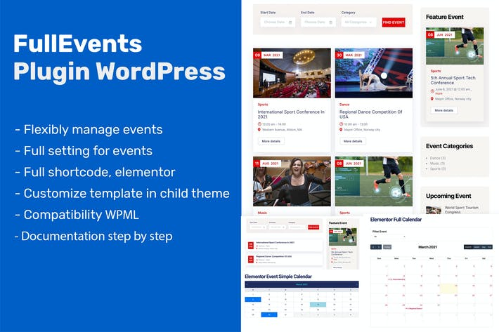 Event Plugin WordPress - FullEvents