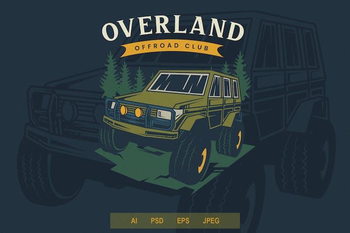 Thumbnail for Vintage Emblem - Offroad V2