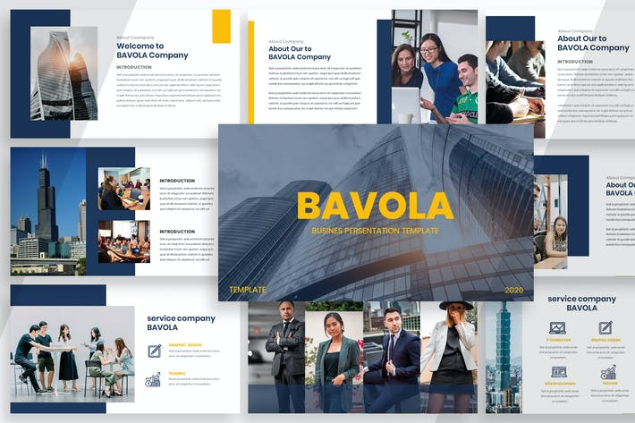 Thumbnail for Bavola - Powerpoint de negócios