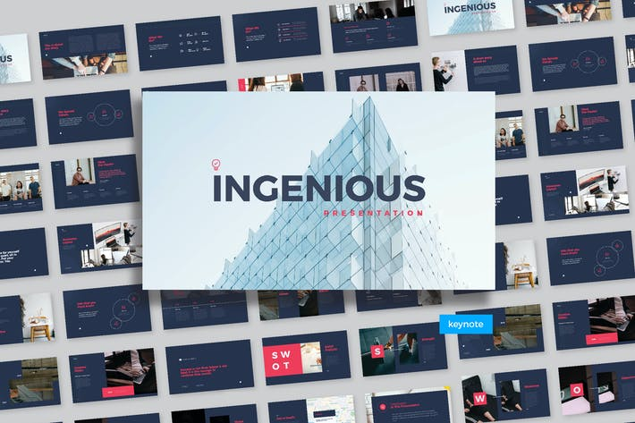 Thumbnail for Ingenious Presentation-Keynote