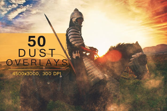 Cover Image For 50 Dust Overlays