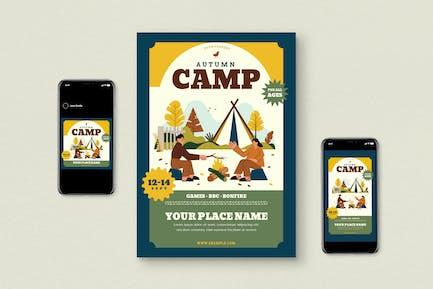 Camp d'automne
