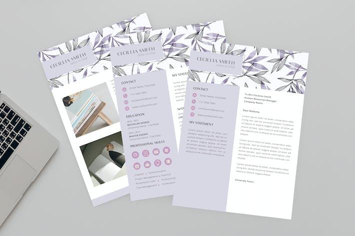 Thumbnail for Cecillia Editor Resume Designer