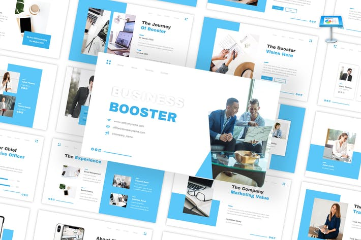 Thumbnail for Business Booster - Multipurpose Keynote Template