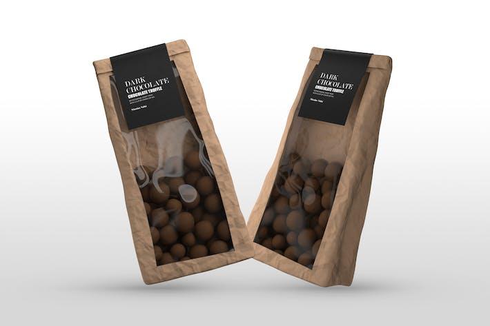 Thumbnail for Schokoladen-Päckchen Mock-ups