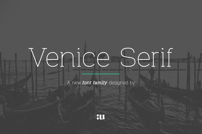 Thumbnail for Venice Serif - Famille de polices