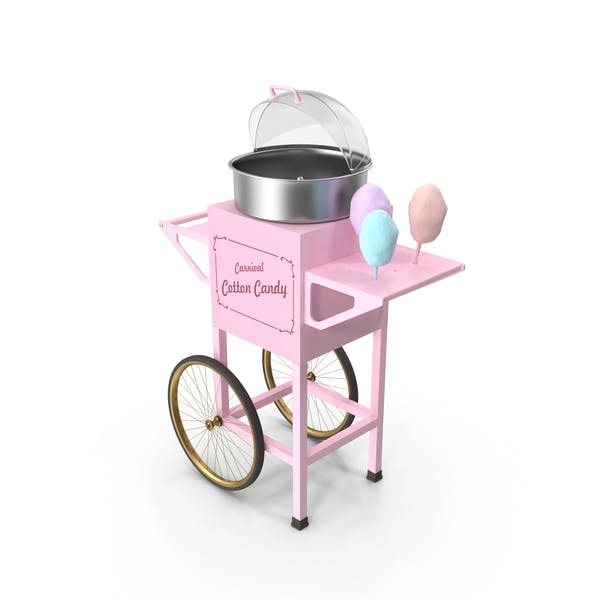 Vintage Cotton Candy Machine