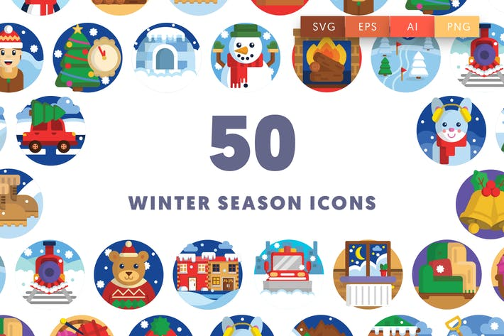 Thumbnail for Winter Season Icons