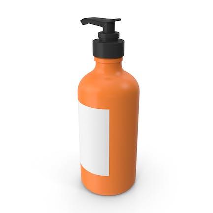 Botella Push Naranja