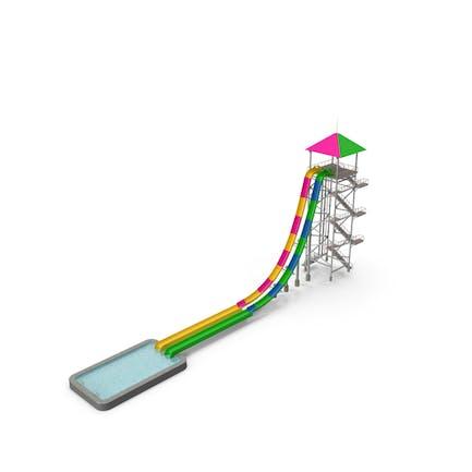 Freefall Wasserrutsche