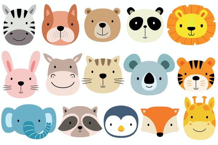 Thumbnail for Cute Face Animals