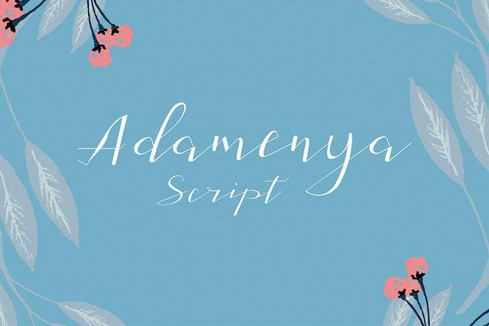 Thumbnail for Adamenya Script