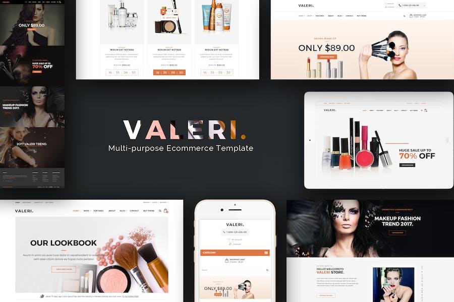 Valeri - Prestashop Theme for Beauty SPA and Salon
