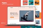 Yogawa — Yoga Unbounce Landing Page Template