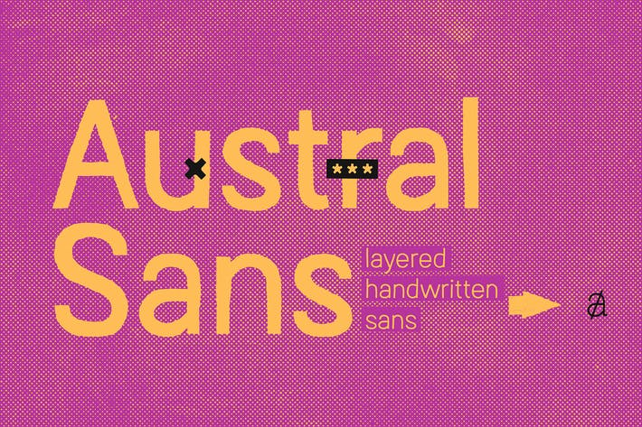 Thumbnail for Austral Sans