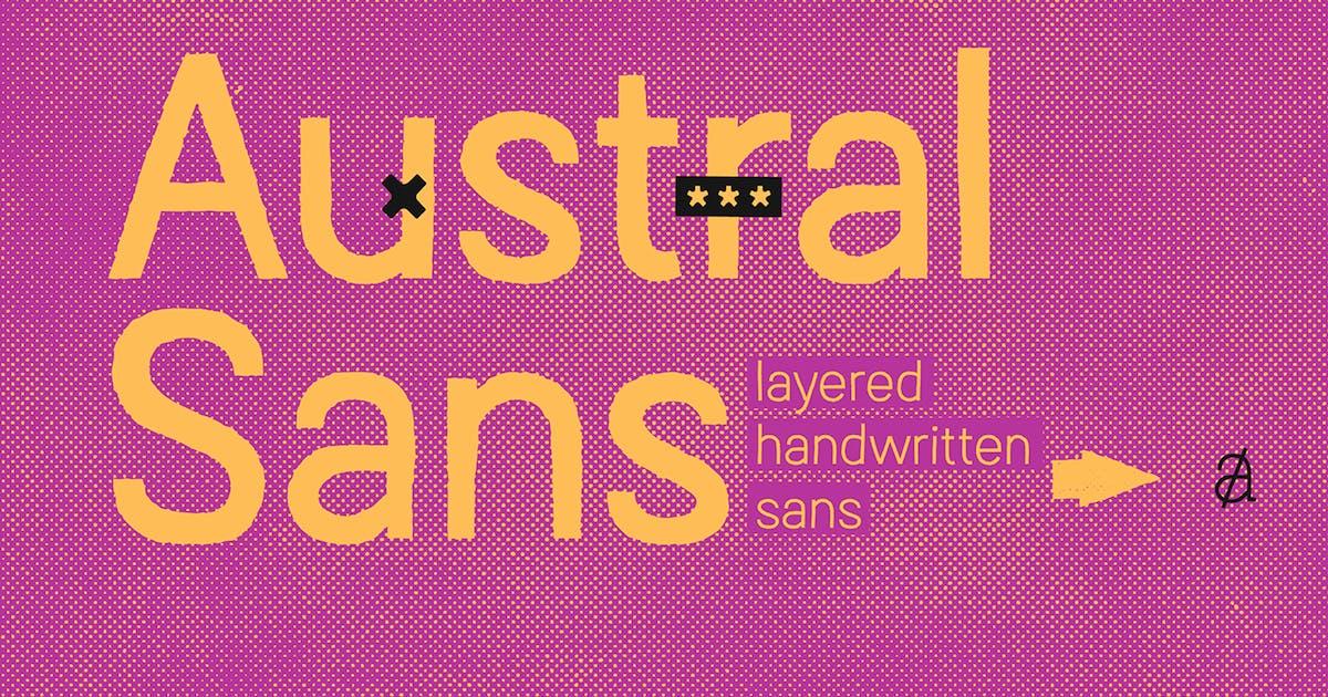 Download Austral Sans by antipixel