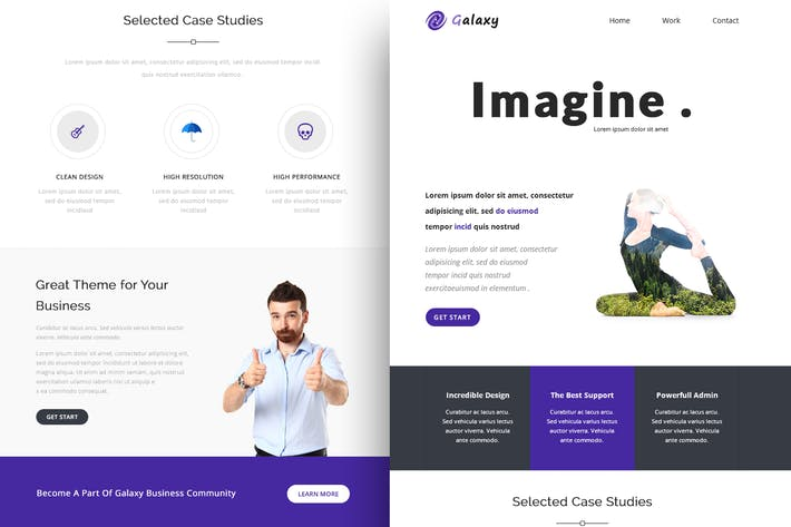 Thumbnail for Galaxy - Responsive Email + Online Builder