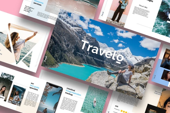 Thumbnail for Travelo - Travel Agency Keynote Template