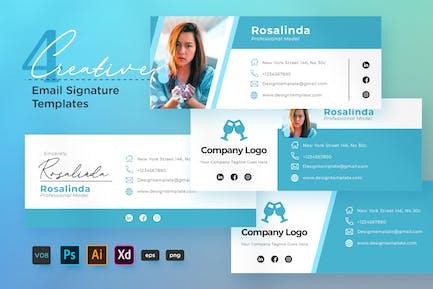 Creative Email Signature Vol.08