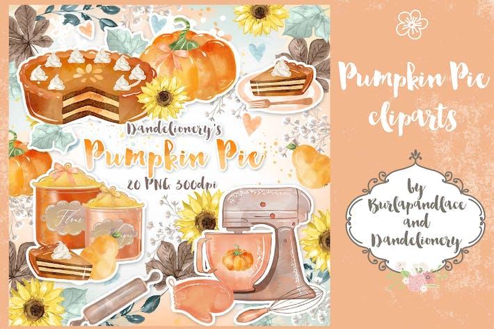 Thumbnail for Pumpkin Pie cliparts