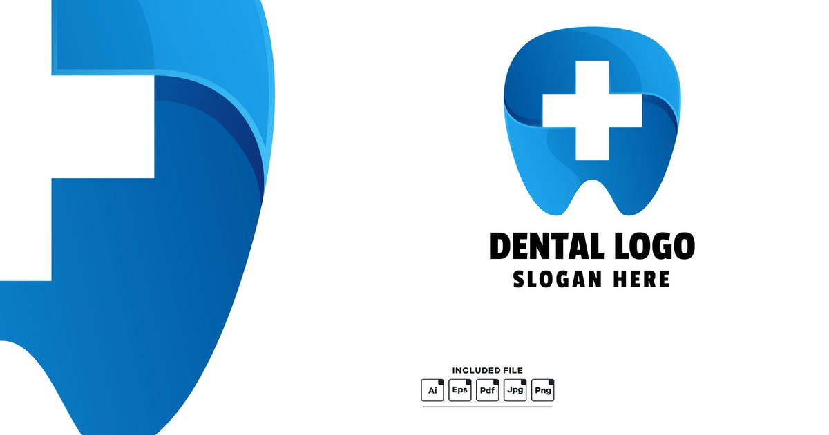 Download Dental Gradient Colorful Logo Template by yuanesei