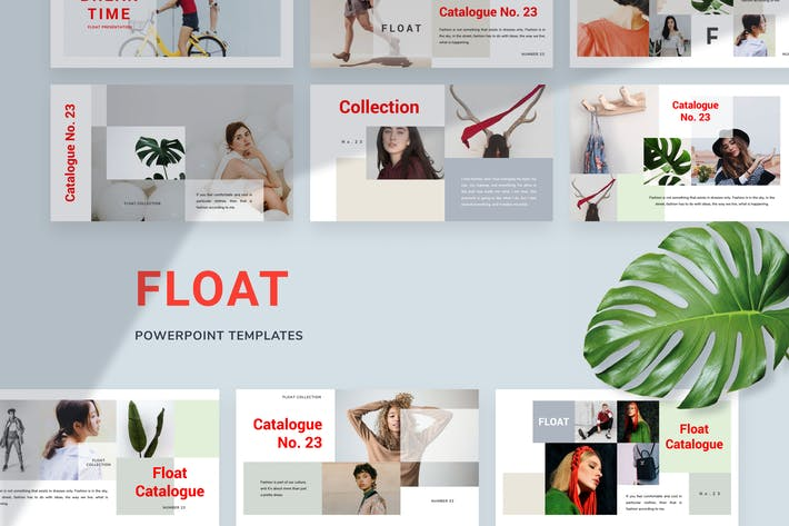 Thumbnail for Float Powerpoint Templates