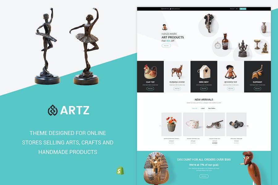 Artz | Art, Photography Shopify Theme