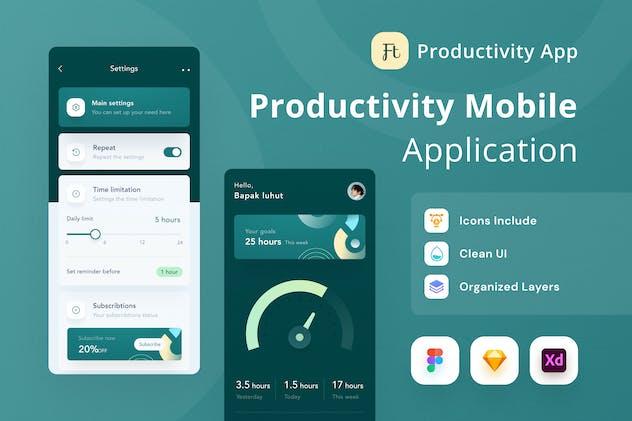 Productivity Mobile App