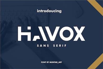 Havox   Fuente moderna