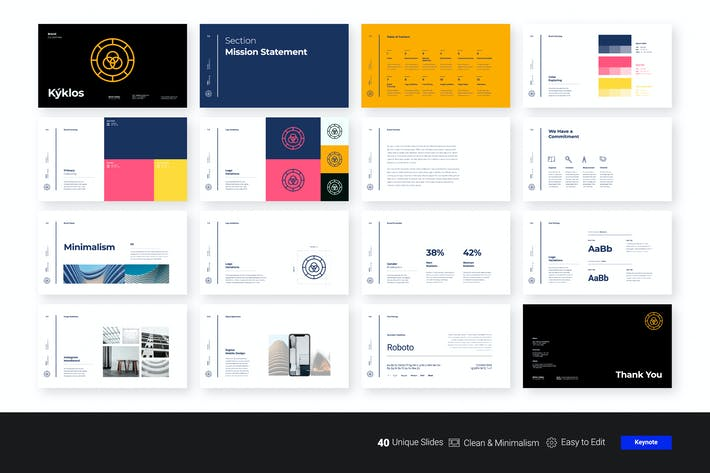 Cover Image For Kyklos - Brand Guidelines KEY